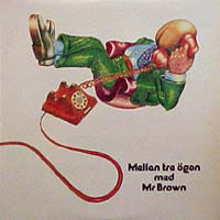 Mellan Tre Ögon by MR. BROWN album cover