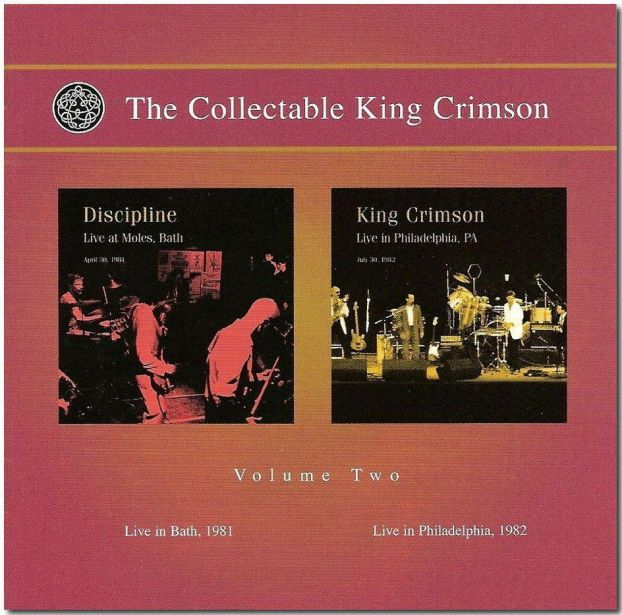 King Crimson The Collectable King Crimson Vol.2  album cover