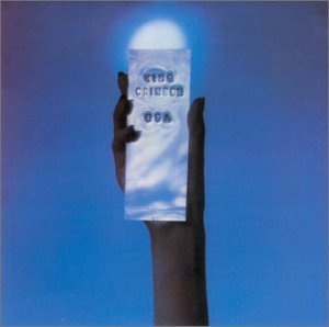 King Crimson - USA CD (album) cover