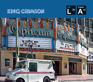 Live At The Orpheum by KING CRIMSON album cover