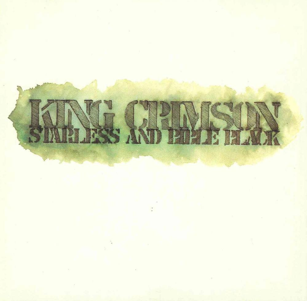King Crimson Starless And Bible Black album cover