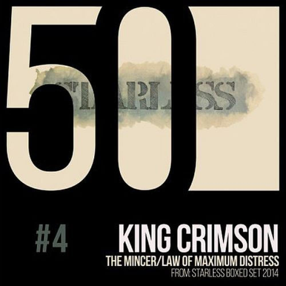 King Crimson - The Mincer / Law of Maximum Distress CD (album) cover