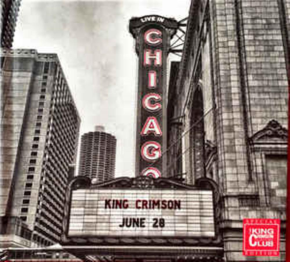King Crimson - Live In Chicago CD (album) cover