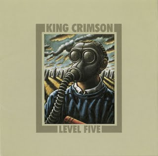 King Crimson - Level Five  CD (album) cover