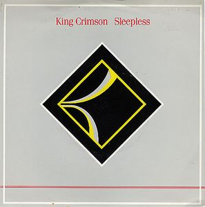 King Crimson Sleepless album cover