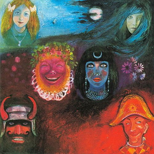 In The Wake Of Poseidon by KING CRIMSON album cover