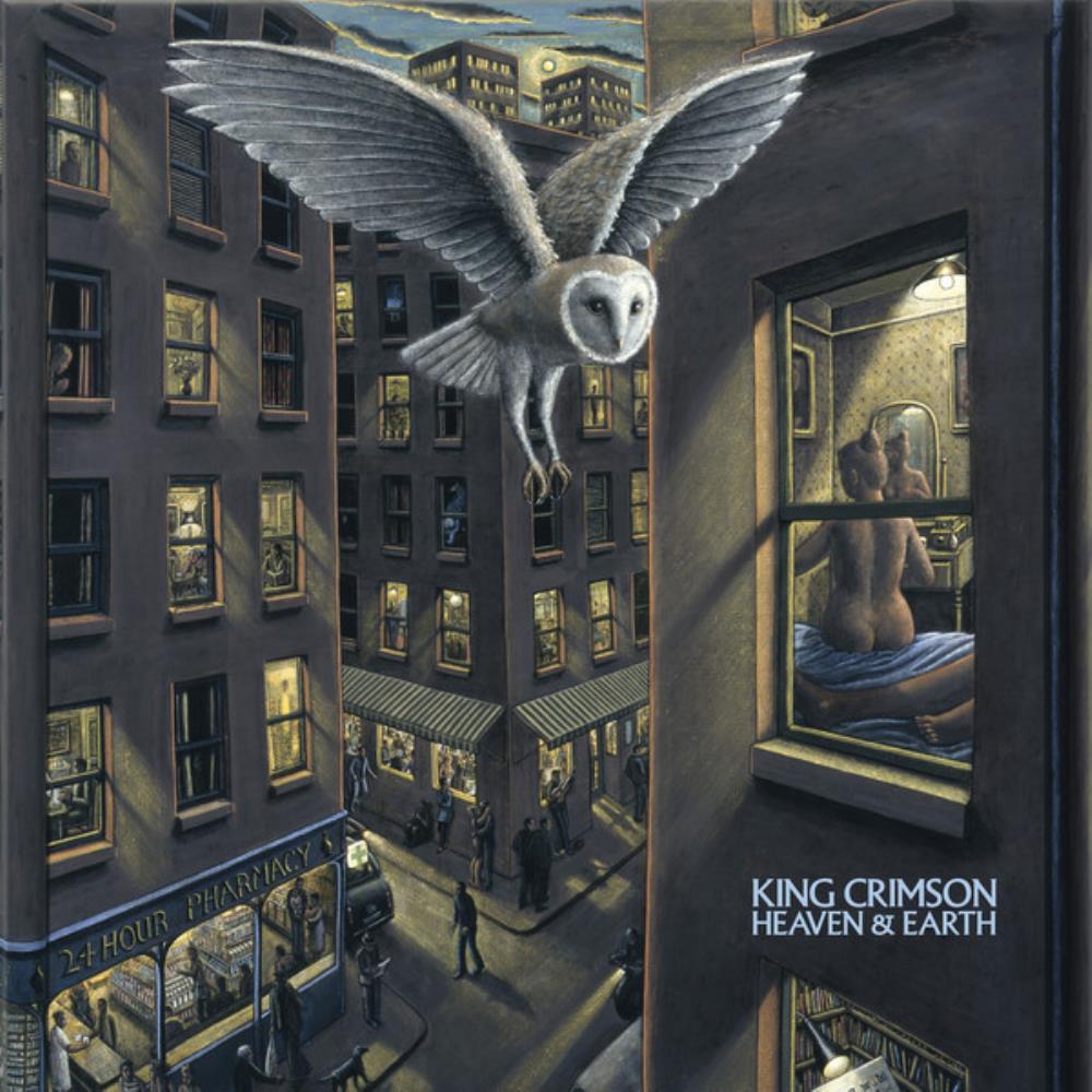Heaven & Earth by KING CRIMSON album cover