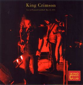 King Crimson - Live At Plymouth, May 1971  CD (album) cover