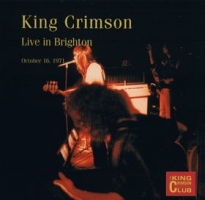 King Crimson Live in Brighton, October 16, 1971 album cover