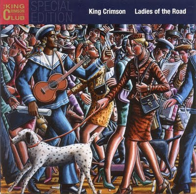 King Crimson - Ladies of the Road CD (album) cover