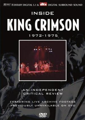 King Crimson Inside King Crimson 1972-1975 An Independent Critical Review With David Cross album cover