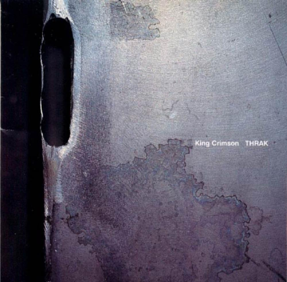 King Crimson - THRAK CD (album) cover