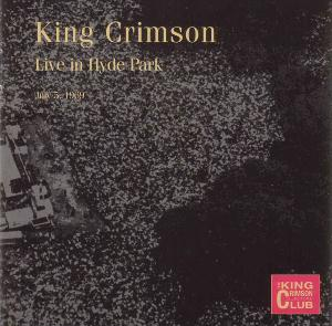 King Crimson Hyde Park, London, 1969  album cover