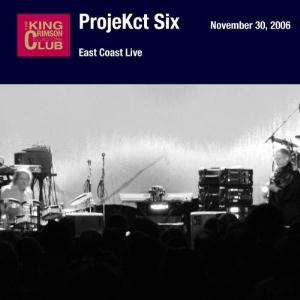 King Crimson - ProjeKct Six - East Coast Live CD (album) cover