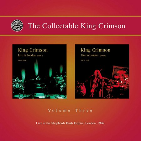 King Crimson - The collectable King Crimson volume three CD (album) cover