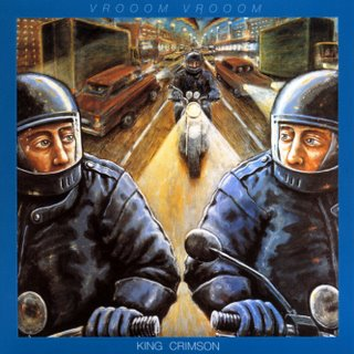 King Crimson VROOOM VROOOM album cover