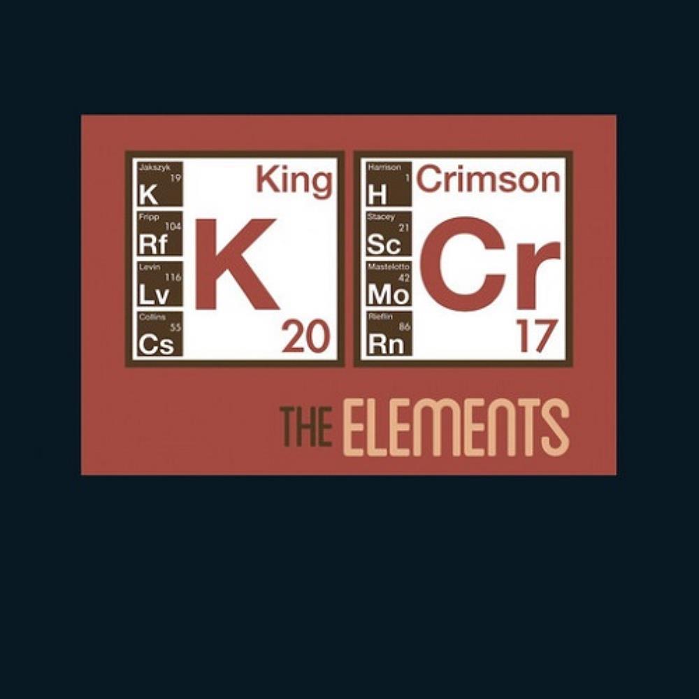 The Elements (2017 Tour Box) by King Crimson album rcover