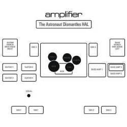 Amplifier The Astronaut Dismantles Hal album cover