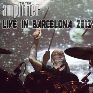 Amplifier - Live In Barcelona 2013 CD (album) cover