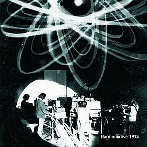 Harmonia - Harmonia Live 1974 CD (album) cover