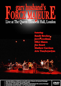 Gary Husband - Live At The Queen Elizabeth Hall-London CD (album) cover
