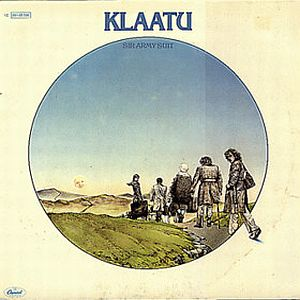 Klaatu - Sir Army Suit CD (album) cover