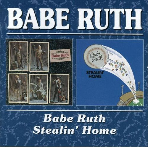 Babe Ruth - Babe Ruth / Stealin' Home CD (album) cover