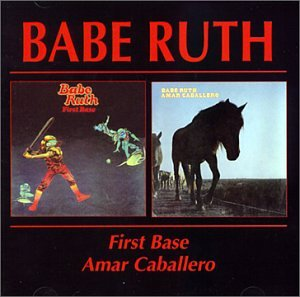 Babe Ruth First Base / Amar Caballero album cover