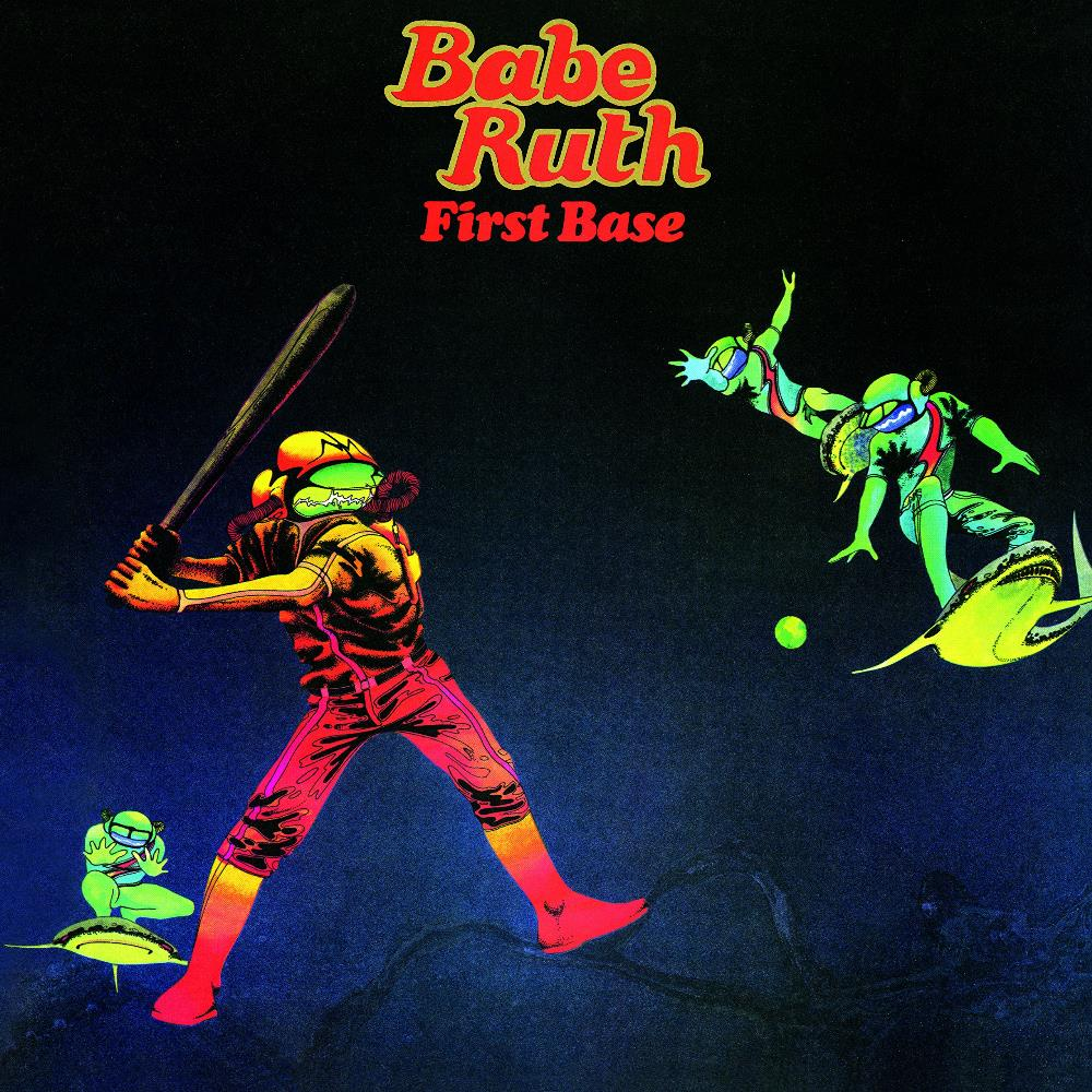 Babe Ruth - First Base CD (album) cover