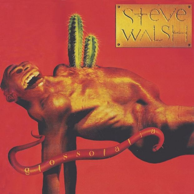 Glossolalia  by WALSH, STEVE album cover