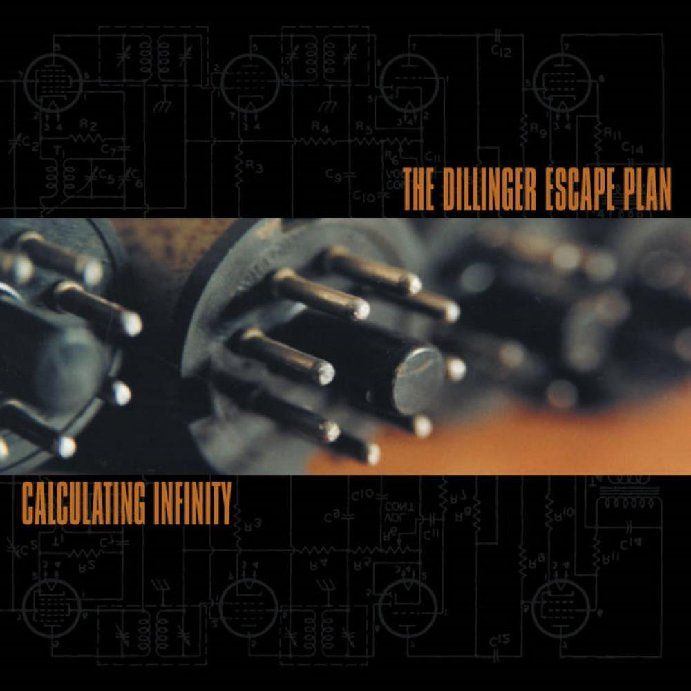 The Dillinger Escape Plan - Calculating Infinity CD (album) cover