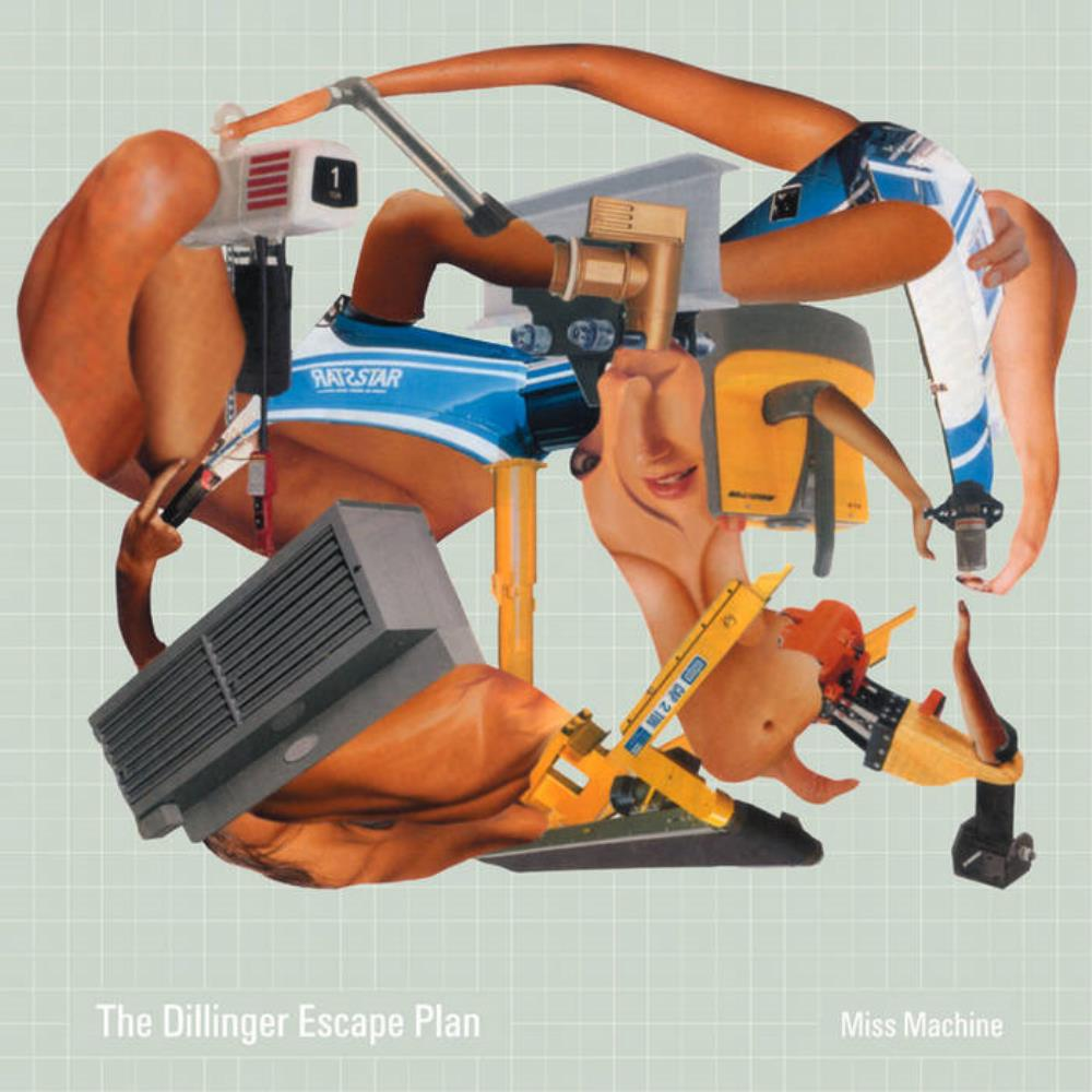 Miss Machine by DILLINGER ESCAPE PLAN, THE album cover