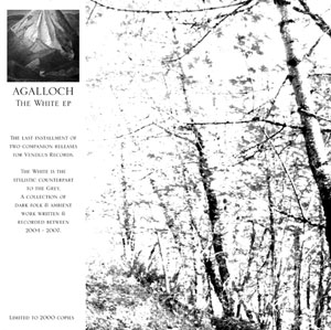 The White EP by AGALLOCH album cover