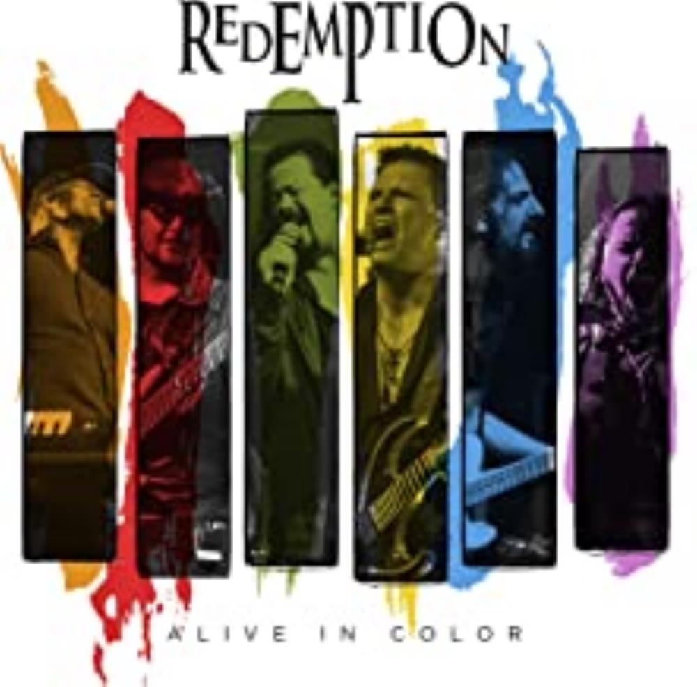 Alive in Color by Redemption album rcover