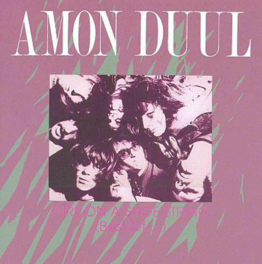 Airs On A Shoe String (Best Of) by AMON DÜÜL album cover