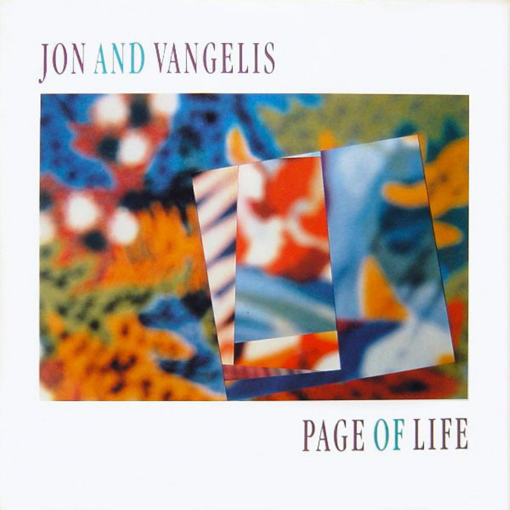Page Of Life by JON & VANGELIS album cover