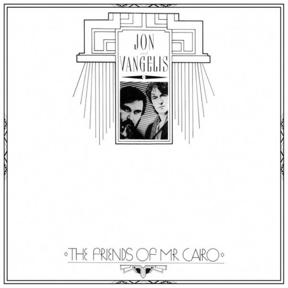 Jon & Vangelis - The Friends Of Mr. Cairo CD (album) cover