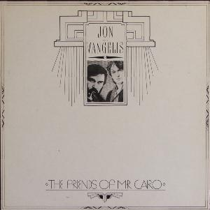 Jon & Vangelis The Friends of Mr. Cairo album cover