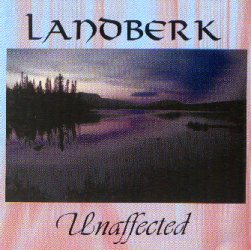 Landberk - Unaffected CD (album) cover