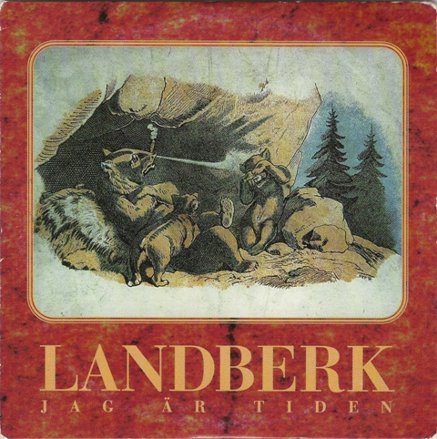 Jag �r tiden by LANDBERK album cover