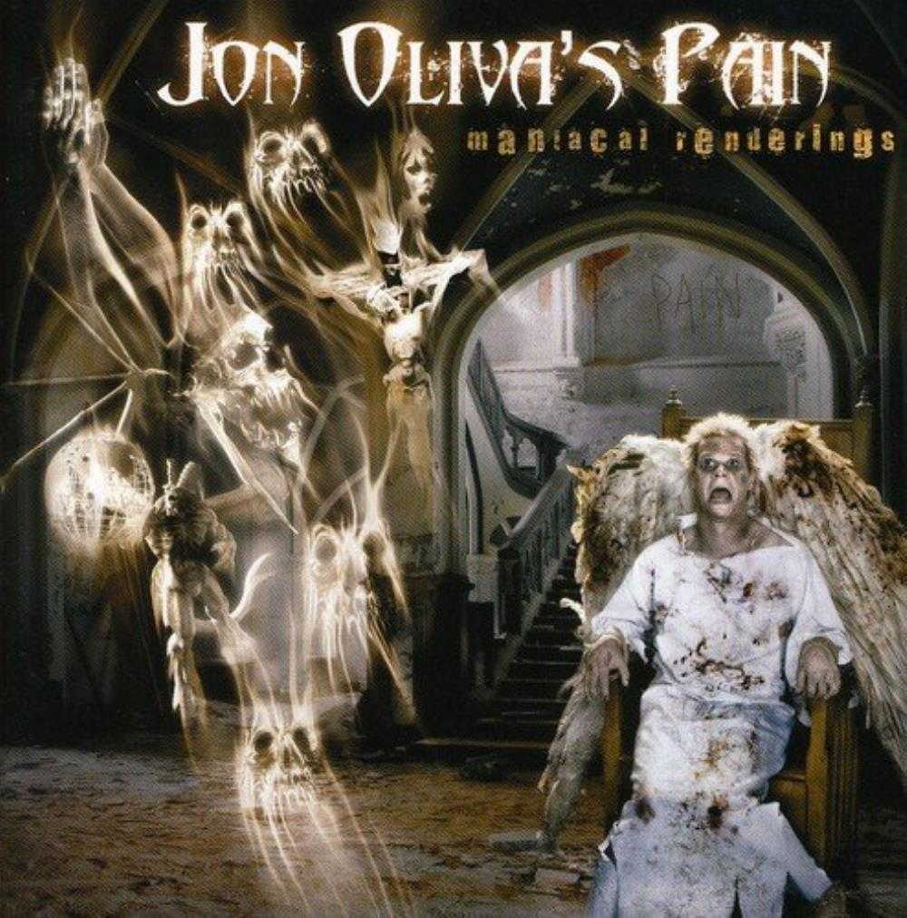 Jon Oliva's Pain - Maniacal Renderings CD (album) cover