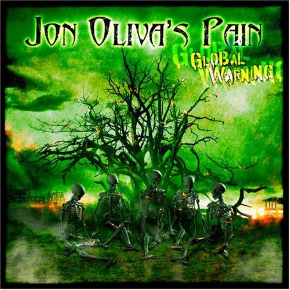 Global Warning by JON OLIVA'S PAIN album cover