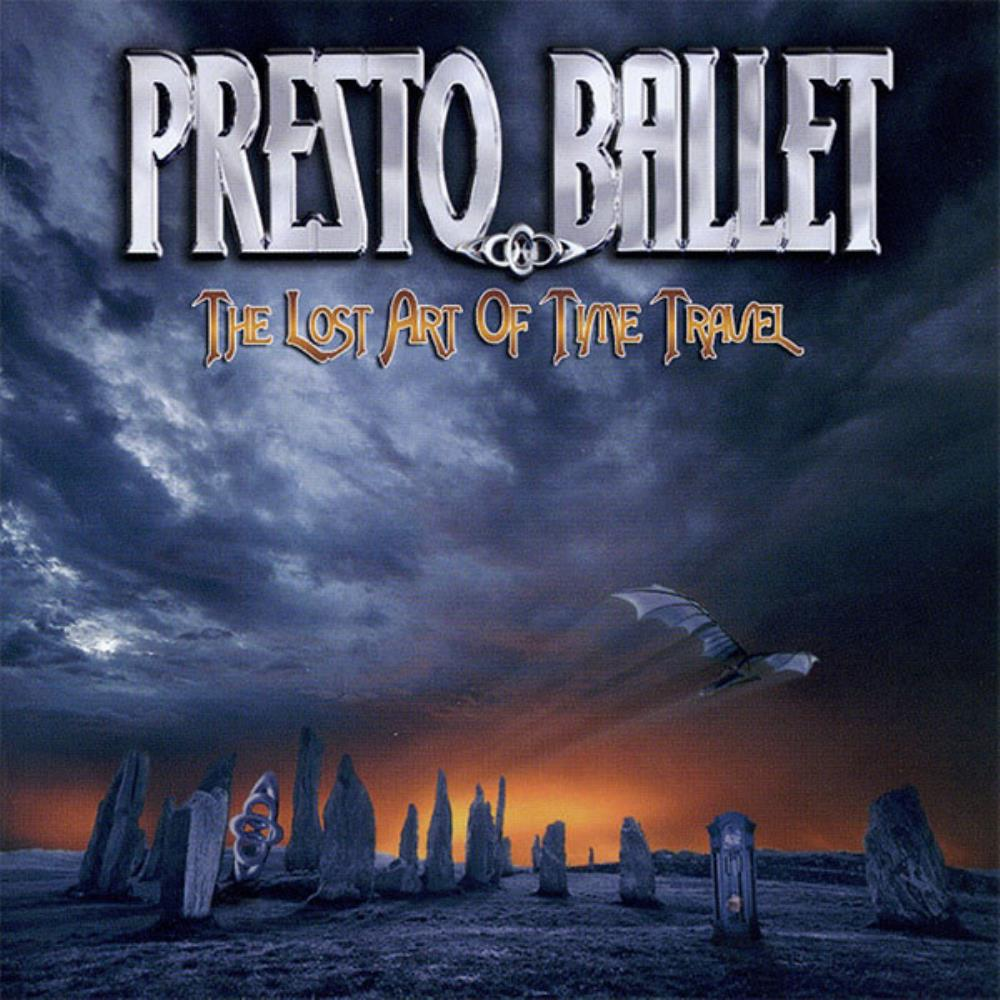 The Lost Art Of Time Travel by PRESTO BALLET album cover