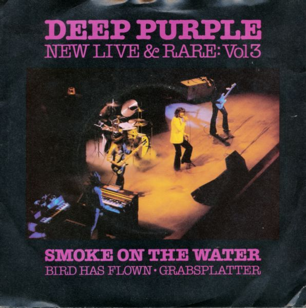 Deep Purple New Live And Rare Vol.3 album cover