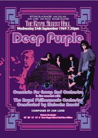 Deep Purple - Concerto For Group And Orchestra CD (album) cover