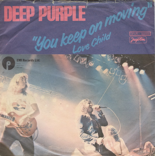 Deep Purple You Keep on Movin' album cover