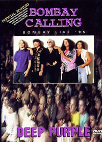 Deep Purple - Bombay Calling CD (album) cover