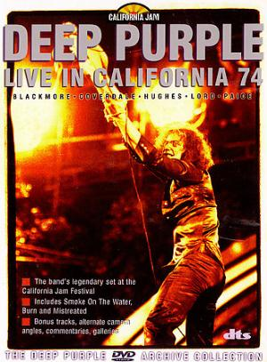 Deep Purple Live in California 74 album cover