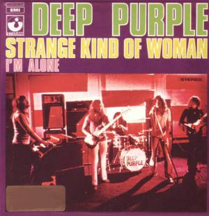 Strange Kind Of Woman/I'm Alone by DEEP PURPLE album cover