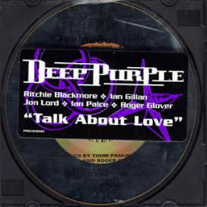 Deep Purple Talk About Love album cover
